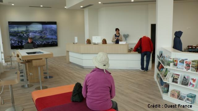 nouvel office de tourisme de Deauville
